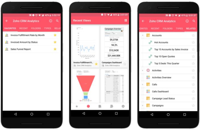 app zoho reports