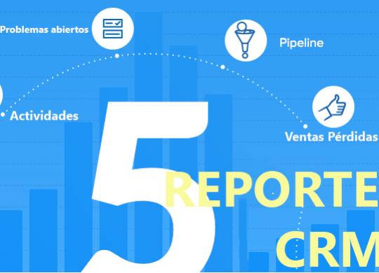 5 Informes de CRM
