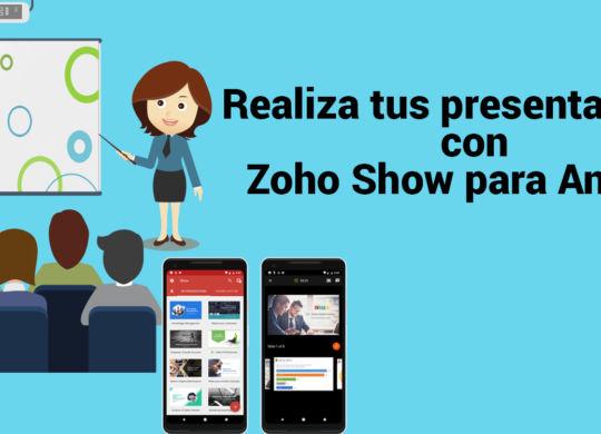 zoho show para android (2)