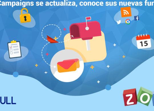 Zoho Campaigns se actualiza, conoce sus nuevas funciones