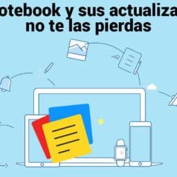 Zoho Notebook y sus actualizaciones, no te las pierdas