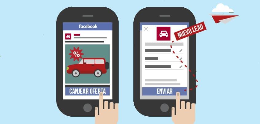 campaña de clientes potenciales en facebook