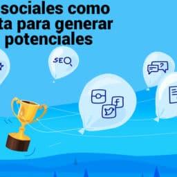 redes sociales clientes potenciales