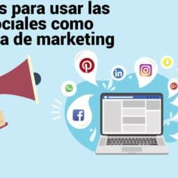 redes sociales como estrategia marketing